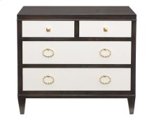 Jet Set Nightstand in Caviar (356)