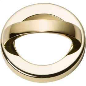 Tableau Round Base and Top 1 13/16 Inch - French Gold