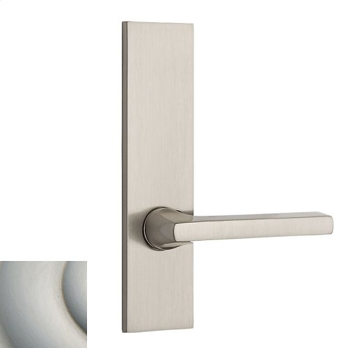 Satin Nickel with Lifetime Finish Contemporary L026 Lever Screen Door