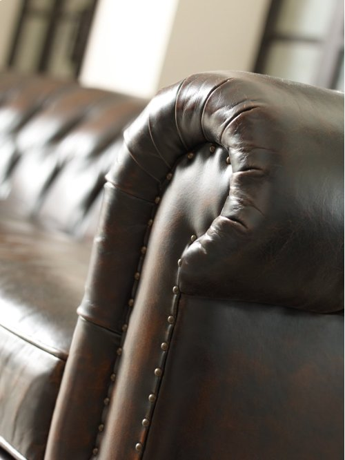 "London Club Sofa (116-1/2"") in Molasses (780)"