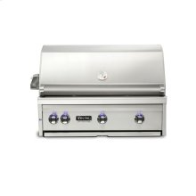 "36""W. Built-in Grill with ProSear Burner and Rotisserie, Propane Gas"