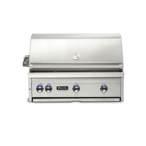 "Viking36""W. Built-in Grill with ProSear Burner and Rotisserie, Propane Gas"