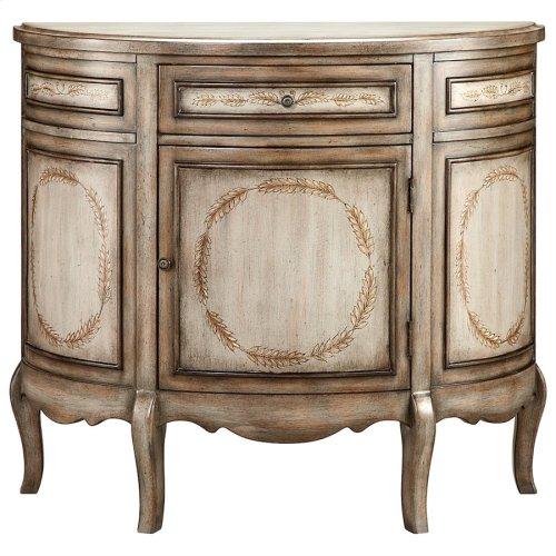 Laurel Demilune Cabinet