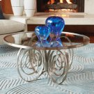 Weathervane Cocktail Table-Nickel Product Image