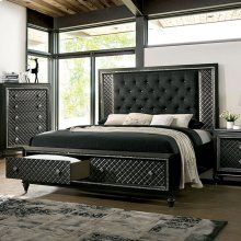 California King Size Demetria Bed