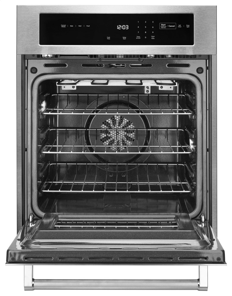 Kosc504ess Kitchenaid 24 Quot Single Wall Oven With True