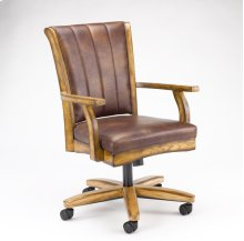 Grand Bay Caster Dining Chair Oak
