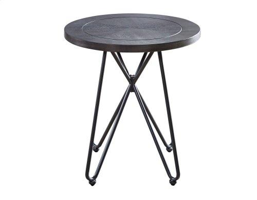 "Derek Round End Table 24""x24""x24"" (30mm thickness)"