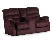Garrett Double Reclining Console Loveseat