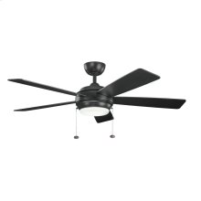Starkk Collection 52 Inch Starkk Ceiling Fan SBK