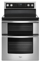 Whirlpool® 6.7 Cu. Ft. Electric Double Oven Range with True Convection Product Image