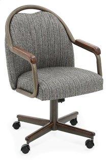 Chair Base: Narrow (walnut & bronze)