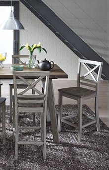 Counter Height Table and 4 Chairs