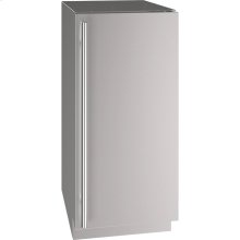 "5 Class 15"" Refrigerator With Stainless Solid Finish and Field Reversible Door Swing (115 Volts / 60 Hz)"