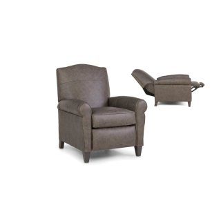 713-33 Leather Pressback Reclining Chair