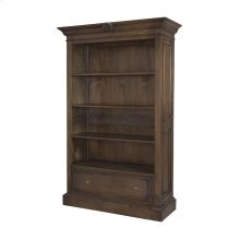 French Rococo Open Double Cabinet In Woodlands Stain