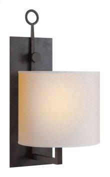 Visual Comfort S2030BR-NP Ian K. Fowler Aspen 1 Light 8 inch Hand Painted Blackened Rust Decorative Wall Light