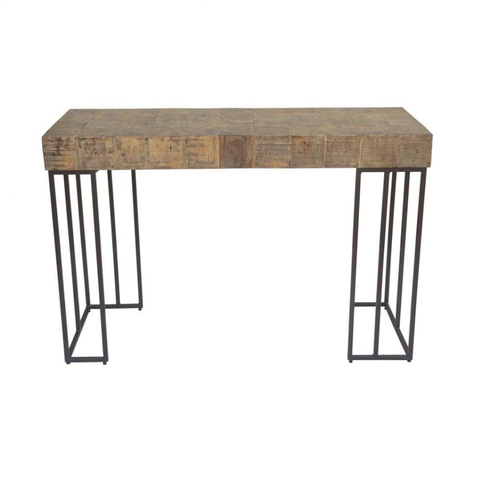 Crosscut Console Table