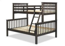 Mission Twin/Full Bunk Bed, Java