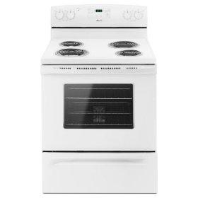 Amana® 30-inch Amana® Electric Range with Self Clean - White