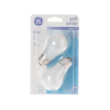 Bulbs - 60W soft white - 2 pack
