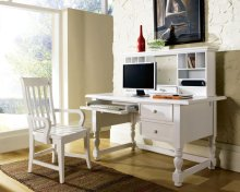 Bella Arm Chair, White