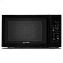"KitchenAid® 21 3/4"" Countertop Microwave Oven - 1200 Watt - Black"