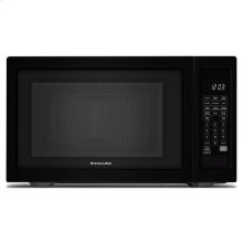 "KitchenAid® 21 3/4"" Countertop Microwave Oven - 1200 Watt - Black"