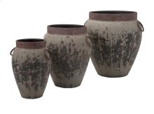 Argetile Rustic Planters - Set of 3