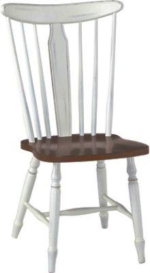 Bridgeport Chair Alabaster & Espresso