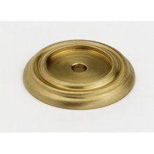 Charlie's Collection Backplate A616-14 - Satin Brass