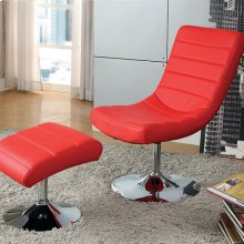 Valerie Lounge Chair W/ Ottoman