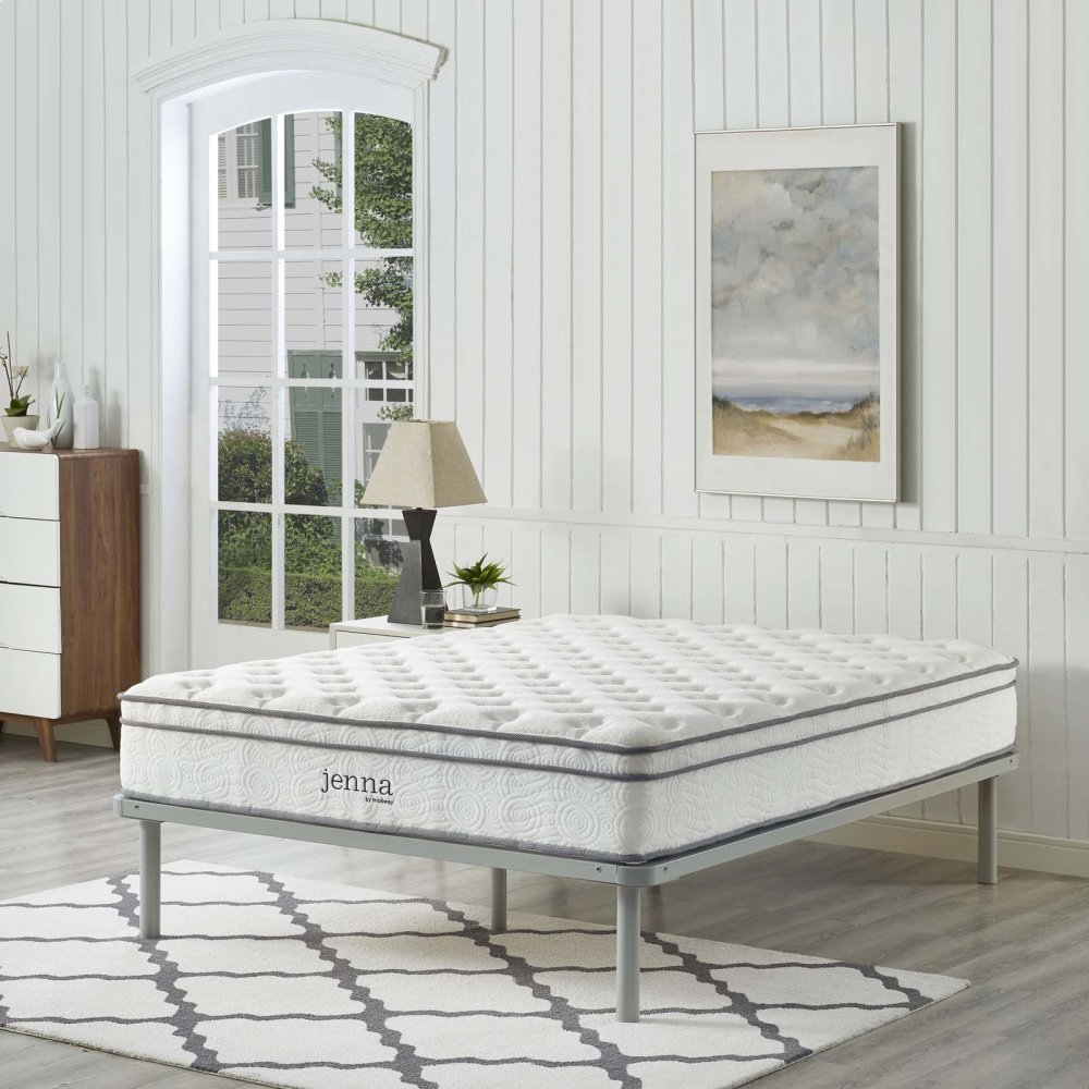 "Jenna 10"" Queen Innerspring Mattress"