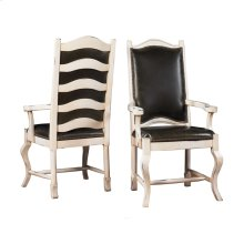 Tall Napa Ladderback Chair with Upholstered Back