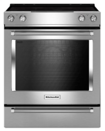 30-Inch 5-Element Electric Slide-In Convection Range - Stainless Steel Product Image