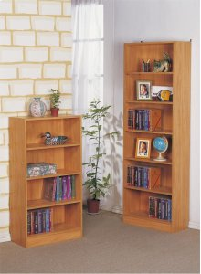 4-tier Bookcase, Natural