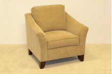 Loose Pillow Back Transitional Chair