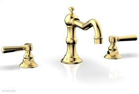 HENRI Deck Tub Set - Lever Handle - 161-41 - Polished Gold