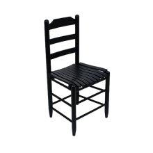 Farm House Chair in Black Matte