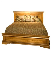 Legacy Queen Panel Bed with low footboard