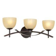 Orbit 3-Light Bathbar-Bronze
