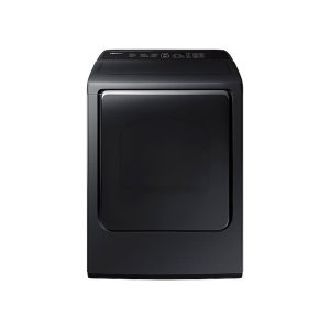 7.4 cu. ft. Electric Dryer with Integrated Touch Controls in Black Stainless Steel -