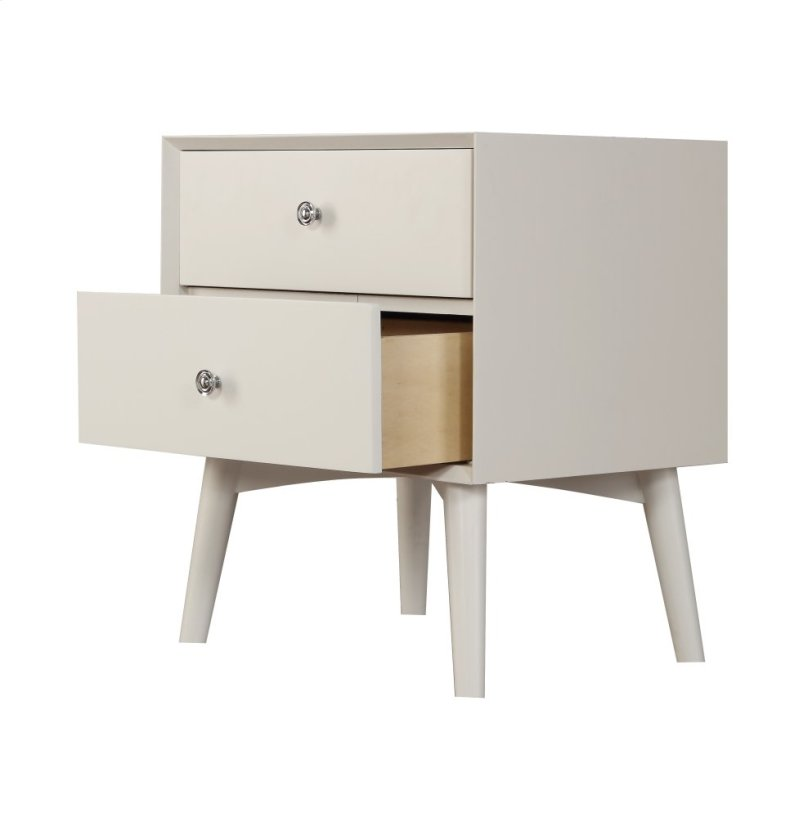 Additional Emerald Home Decor 2 Drawer Nightstand White B351 04wht