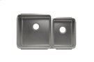 """Classic 003233 - undermount stainless steel Kitchen sink , 18"""" × 18"""" × 10""""  12"""" × 16"""" × 8"""" Product Image"""