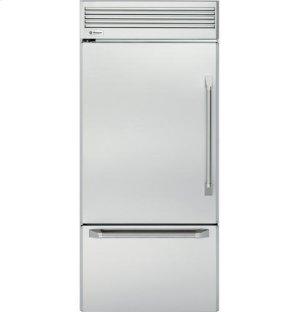 "GE Monogram® 36"" Professional Built-In Bottom-Freezer Refrigerator-Closeout"