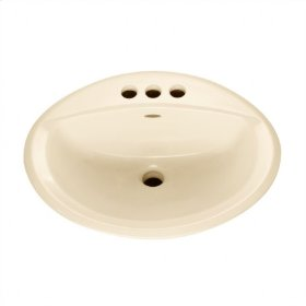 Bone Aqualyn Countertop Sink