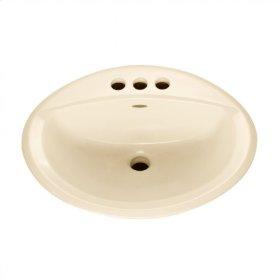 Bone Aqualyn Countertop Sink