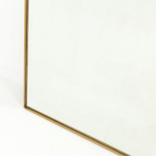 Bellvue Floor Mirror-polished Brass