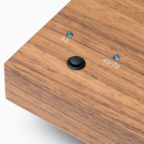 Walnut- A turntable to take your vinyl to the next level. Upgraded for Sonos.