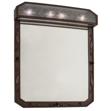 "30""W Arabesque Lighted Vanity Mirror"